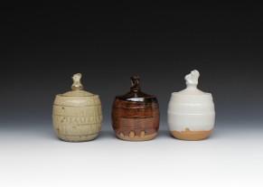 Jar with lid £35 each